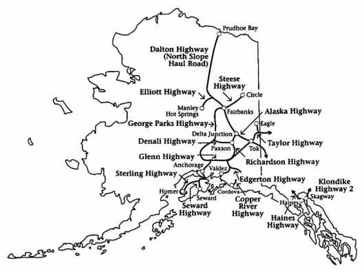 Alaska highways, 1996 Alaska Almanac