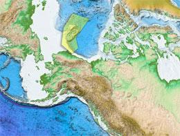 Chukchi new continental shelf map