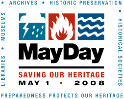 MayDay May 1 heritage preparedness