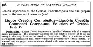 1908 Lysol description